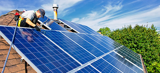 solar panel installation homes